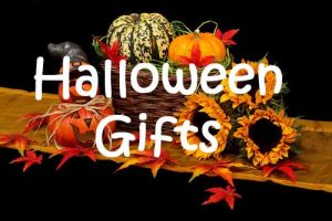 Hallloween gift baskets and gifts delivered