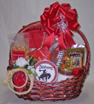 Oklahoma cowboy gift basket