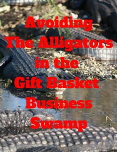 the alligators in the gift basket Business swamp